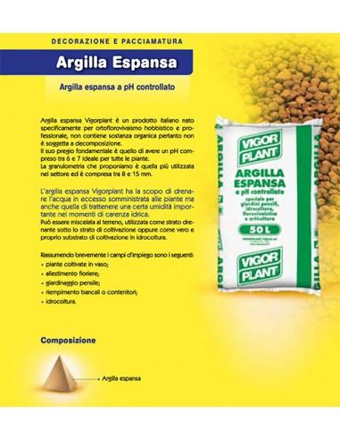 Argilla Espansa 50 Litri Terriccio