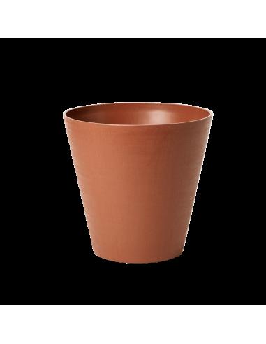 vaso in plastica riciclata