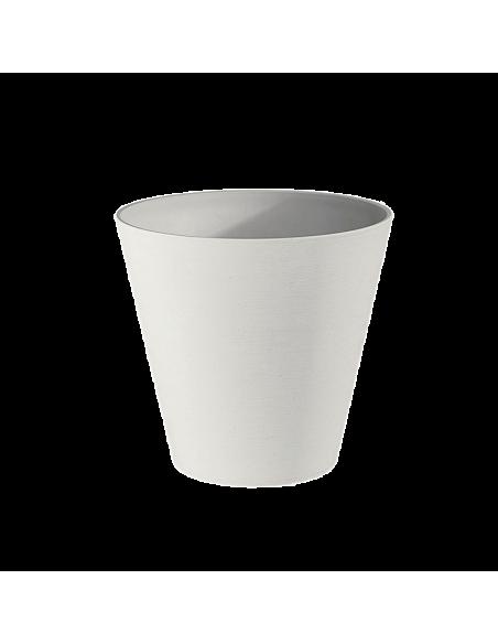 Vaso 30 cm plastica Recycle
