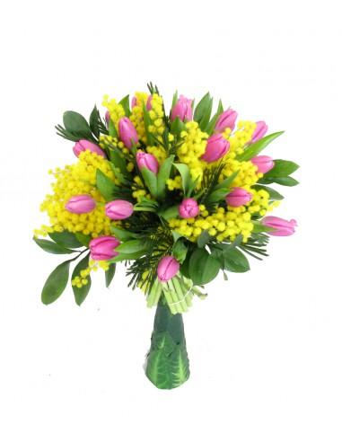 tulipani e mimose
