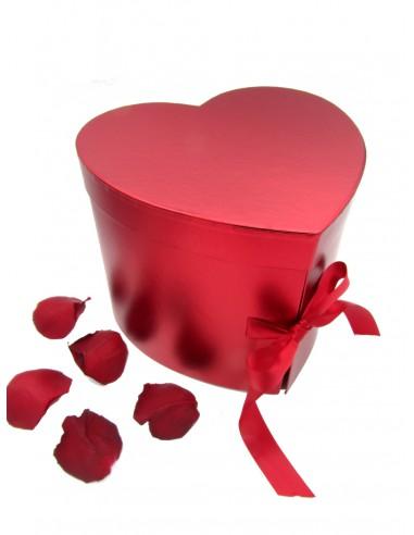 Flower box doppio cuore e baci Perugina