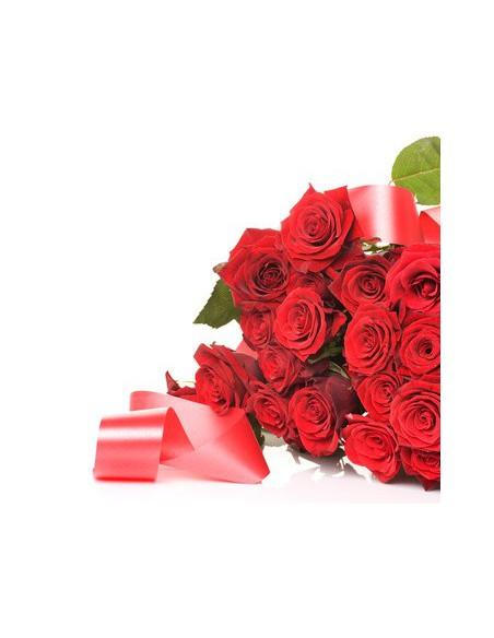 Mazzo di rose rosse in quantita a prezzi bassi-rose a poco prezzo