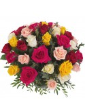bouquet di rose colorate-vendita rose online-rose a domicilio