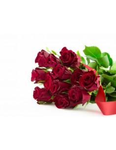 dodici rose-rose san valentino-rose festa della mamma
