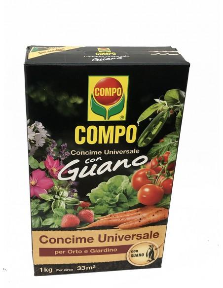 Concime Orto e Giardino Compo Guano