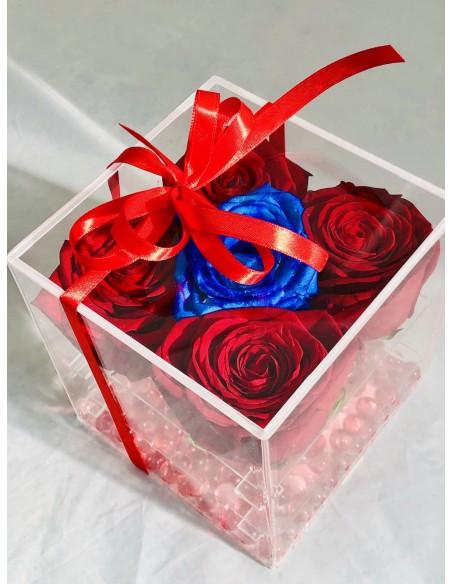 scatola fiori