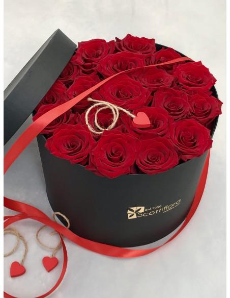 box di rose rosse